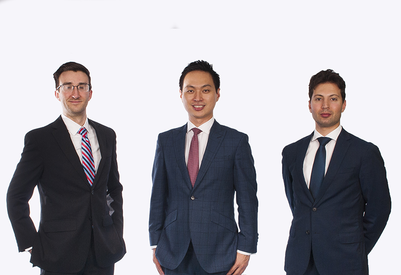 Three co-founders of SMAP Energy
