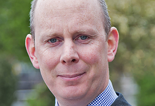 Dr Diarmuid O'Brien, CE designate, Cambridge Enterprise